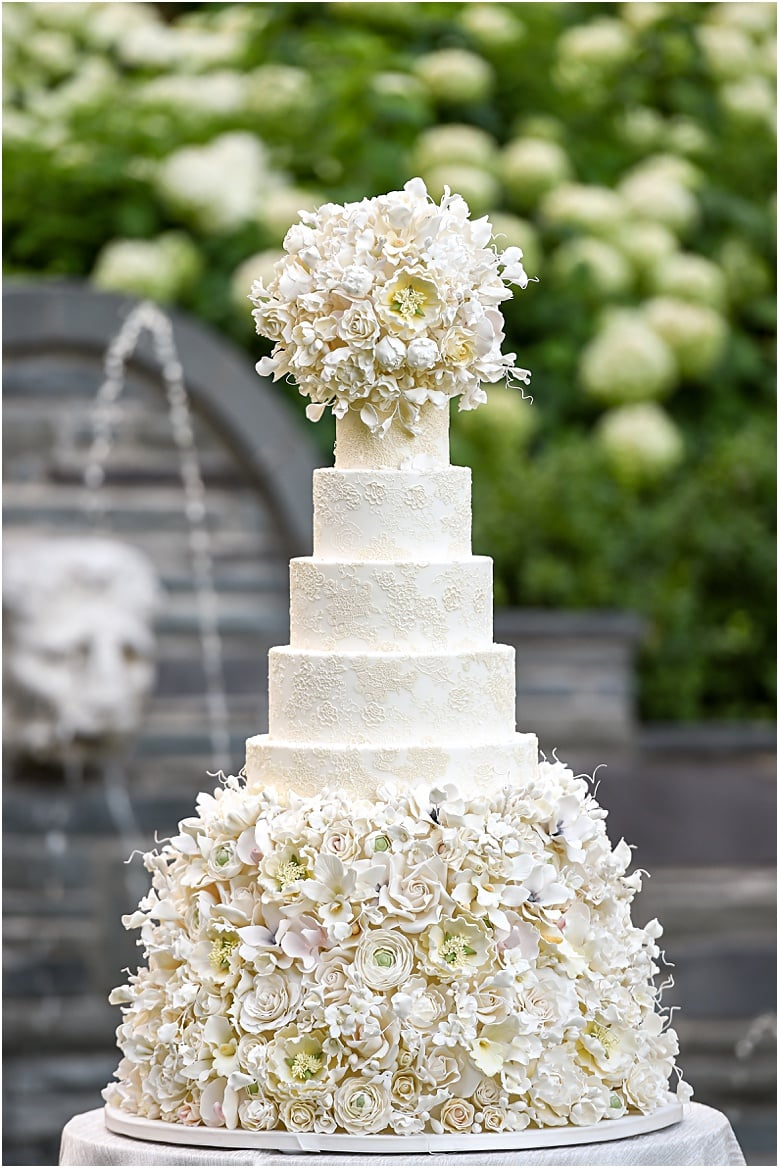 orchid and crystal wedding